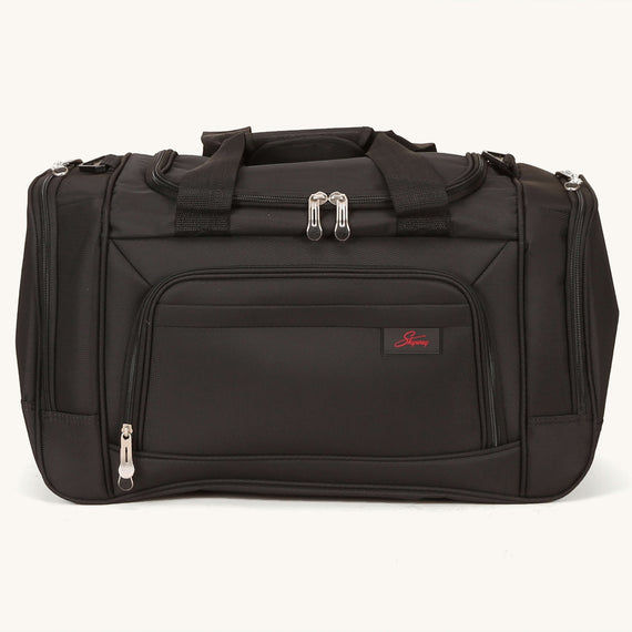 Weekender Travel Duffel Skyway Luggage 22-inch Duffel in Black in  in Color:Black in  in Description:Front