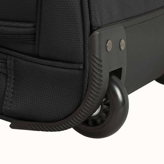 Large Rolling Duffel Skyway Luggage 30-inch Rolling Duffel in Black in  in Color:Black in  in Description:Wheel Detail