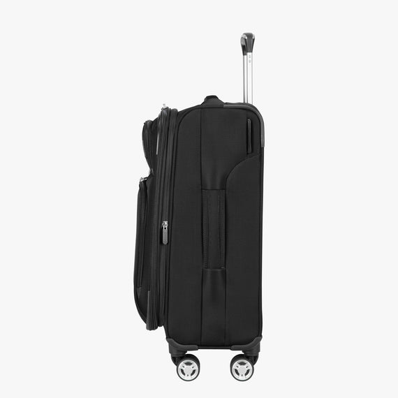 Carry-On Sigma 6 Carry-On in Black Side View in  in Color:Black in  in Description:Side