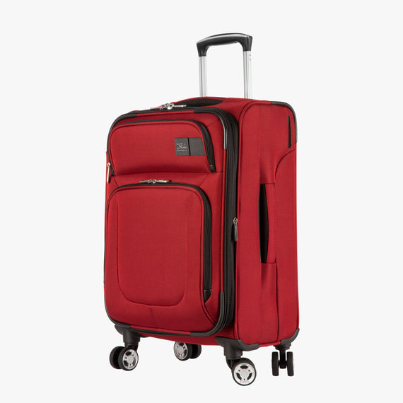 Carry-On Sigma 6 Carry-On in True Red Angled View in  in Color:True Red in  in Description:Angled View