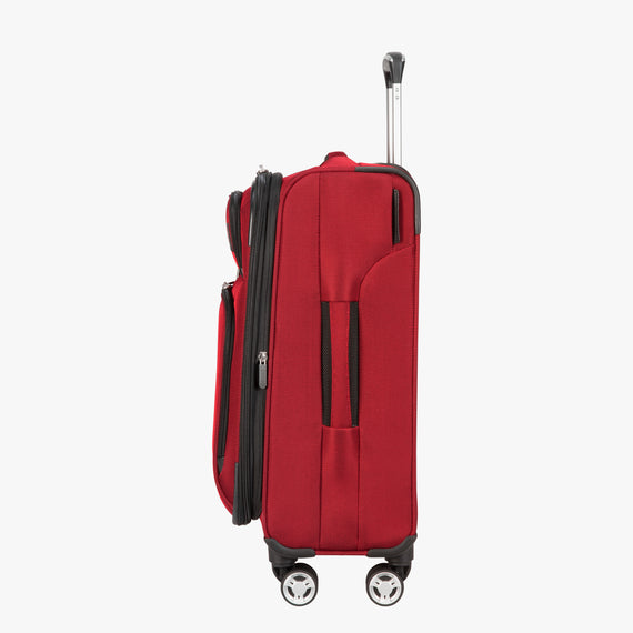 Carry-On Sigma 6 Carry-On in True Red Side View in  in Color:True Red in  in Description:Side