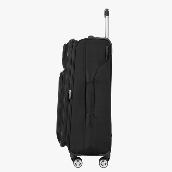 Medium Check-In Sigma 6.0 25-inch Medium Check-In in Black Side View in  in Color:Black in  in Description:Side