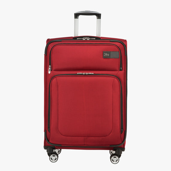 Medium Check-In Sigma 6.0 25-inch Medium Check-In in True Red Front View in  in Color:True Red in  in Description:Front