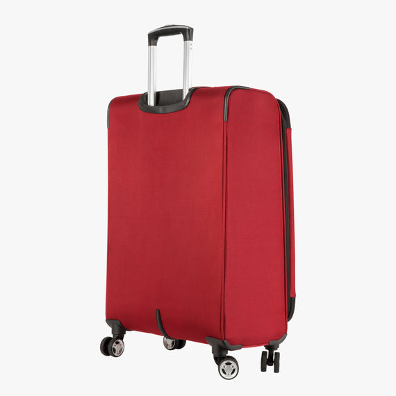 Medium Check-In Sigma 6.0 25-inch Medium Check-In in True Red Quarter Back View in  in Color:True Red in  in Description:Back Angle