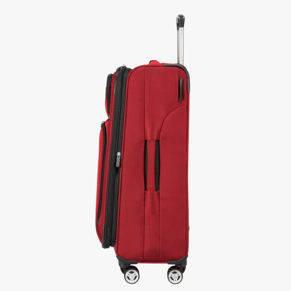 Medium Check-In Sigma 6.0 25-inch Medium Check-In in True Red Side View in  in Color:True Red in  in Description:Side
