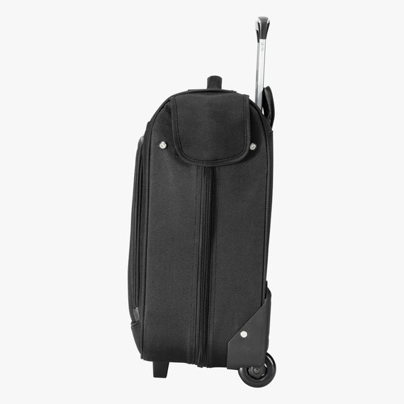 Rolling Garment Bag Sigma 6 Rolling Garment Bag in Black Side View in  in Color:Black in  in Description:Side