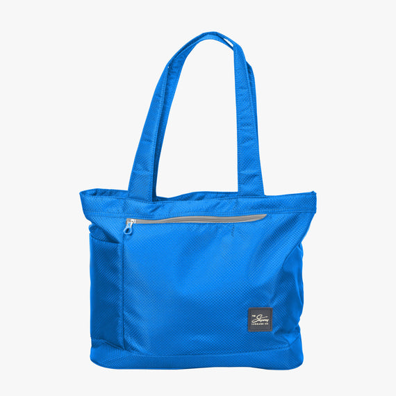 Travel Tote Mirage 2.0 Tote in Blue Front View in  in Color:Blue Royal in  in Description:Front