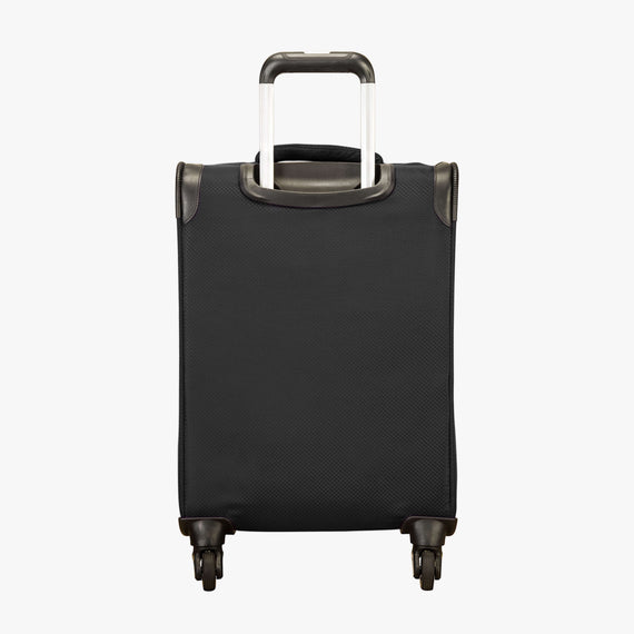 Carry-On Skyway Luggage 20-Inch Carry On Spinner Luggage in Black in  in Color:Black in  in Description:Back