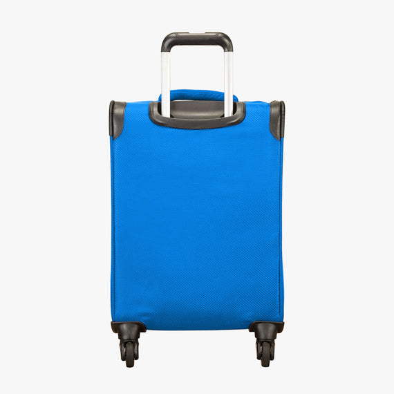 Carry-On Mirage 2.0 Carry-On in Blue Back View in  in Color:Blue Royal in  in Description:Back