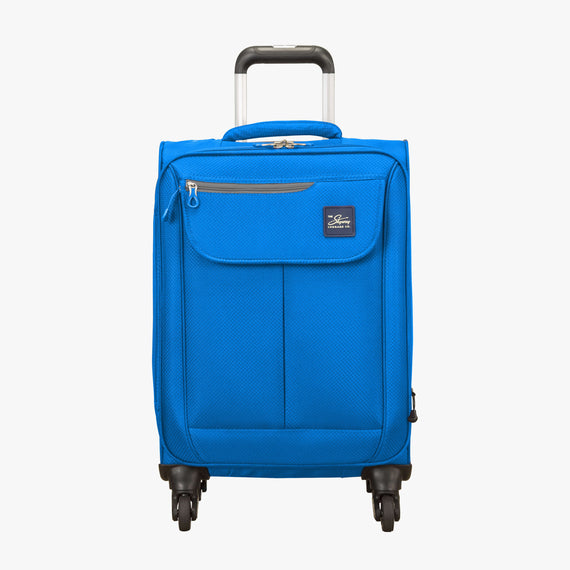 Carry-On Mirage 2.0 Carry-On in Blue Front View in  in Color:Blue Royal in  in Description:Front