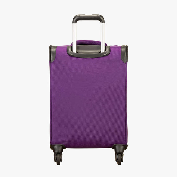 Carry-On Mirage 2.0 Carry-On in Purple Back View in  in Color:Purple Magic in  in Description:Back