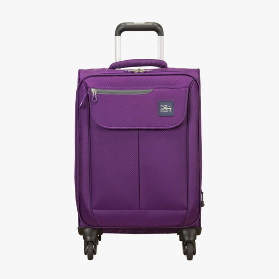 Carry-On Mirage 2.0 Carry-On in Purple Front View in  in Color:Purple Magic in  in Description:Front