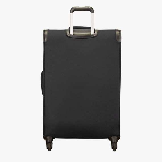 Large Check-In Skyway Luggage 28-inch Spinner Luggage in Black in  in Color:Black in  in Description:Back