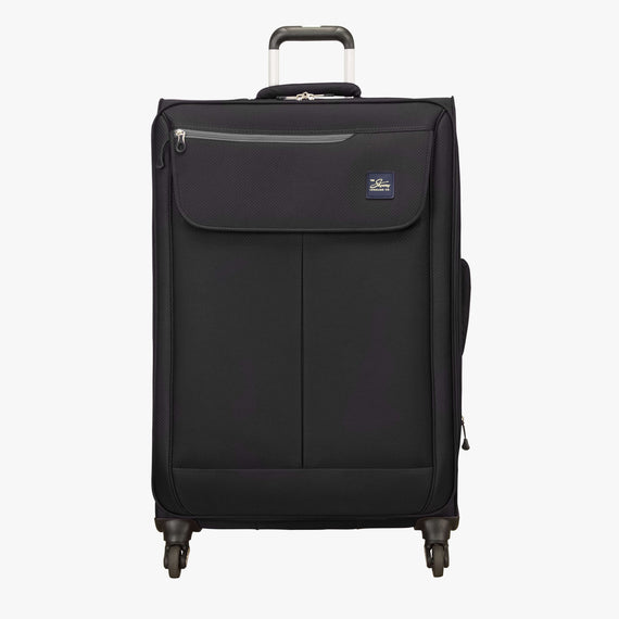 Large Check-In Skyway Luggage 28-inch Spinner Luggage in Black in  in Color:Black in  in Description:Front