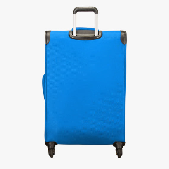 Large Check-In Skyway Luggage 28-inch Spinner Luggage in Blue Royal in  in Color:Blue Royal in  in Description:Back