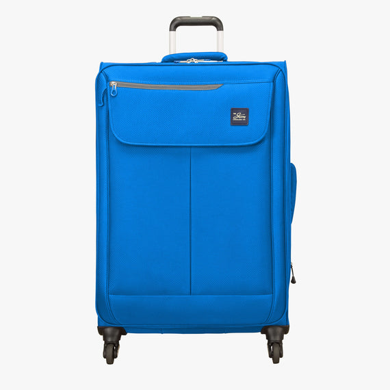 Large Check-In Skyway Luggage 28-inch Spinner Luggage in Blue Royal in  in Color:Blue Royal in  in Description:Front