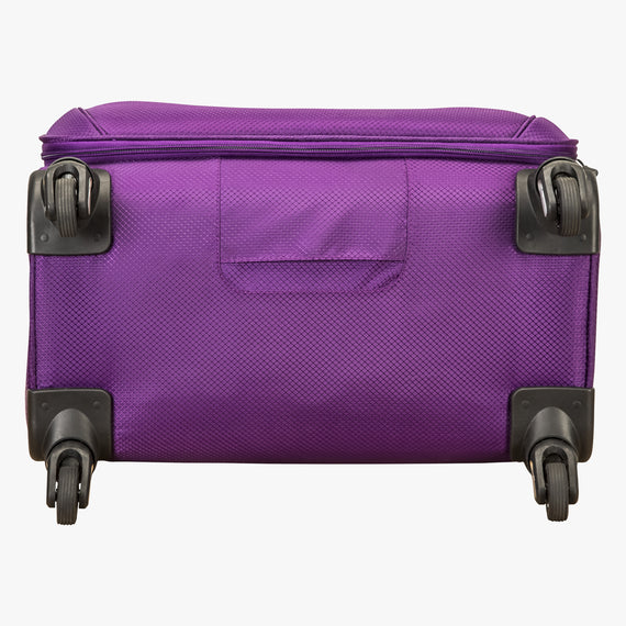 Large Check-In Mirage 2.0 28-inch Check-in Suitcase in Purple Bottom View in  in Color:Purple Magic in  in Description:Bottom