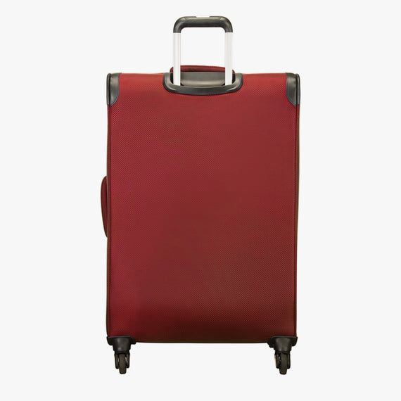 Large Check-In Mirage 2.0 28-inch Check-in Suitcase in Red back View in  in Color:True Red in  in Description:Back