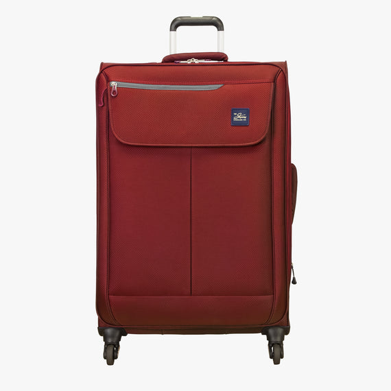 Large Check-In Mirage 2.0 28-inch Check-in Suitcase in Red Front View in  in Color:True Red in  in Description:Front