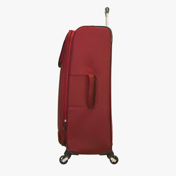 Large Check-In Mirage 2.0 28-inch Check-in Suitcase in Red Side View in  in Color:True Red in  in Description:Side