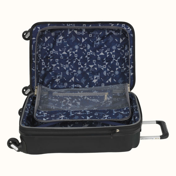 Carry-On Nimbus 3.0 20-inch Carry-On in Black Alternate Open View in  in Color:Black in  in Description:Open Detail