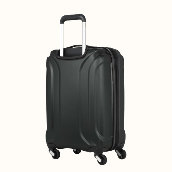 Carry-On Nimbus 3.0 20-inch Carry-On in Black Three Quarter View in  in Color:Black in  in Description:Back Angle