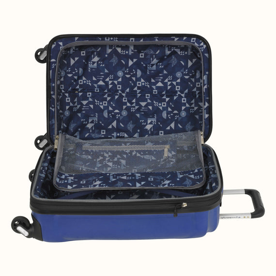 Carry-On Nimbus 3.0 20-inch Carry-On in Blue Alternate Open View in  in Color:Cobalt Blue in  in Description:Open Detail