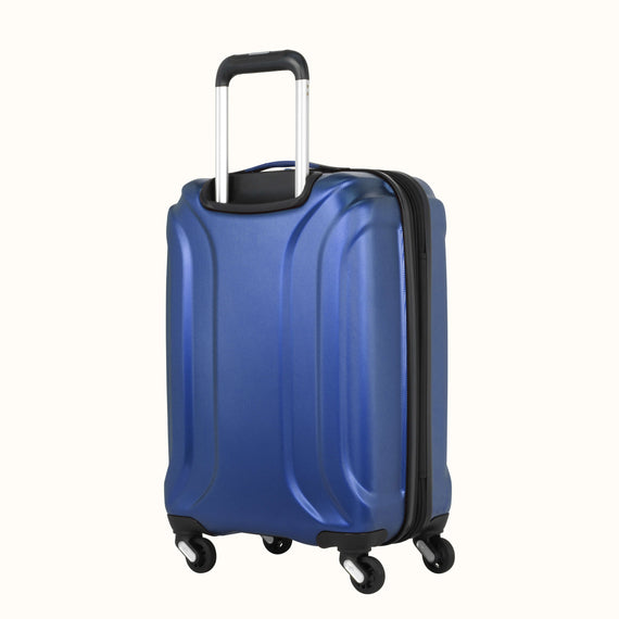Carry-On Nimbus 3.0 20-inch Carry-On in Blue Three Quarter View in  in Color:Cobalt Blue in  in Description:Back Angle