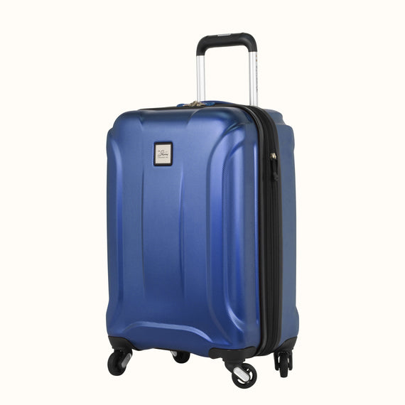 Carry-On Nimbus 3.0 20-inch Carry-On in Blue Quarterfront View in  in Color:Cobalt Blue in  in Description:Angled View