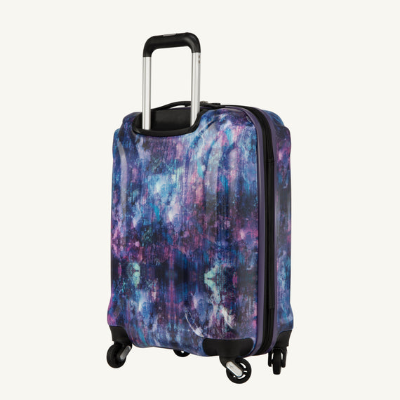 Carry-On Nimbus 3.0 20-inch Carry-On in Purple Cosmo Quarter Back View in  in Color:Purple Cosmo in  in Description:Back Angle