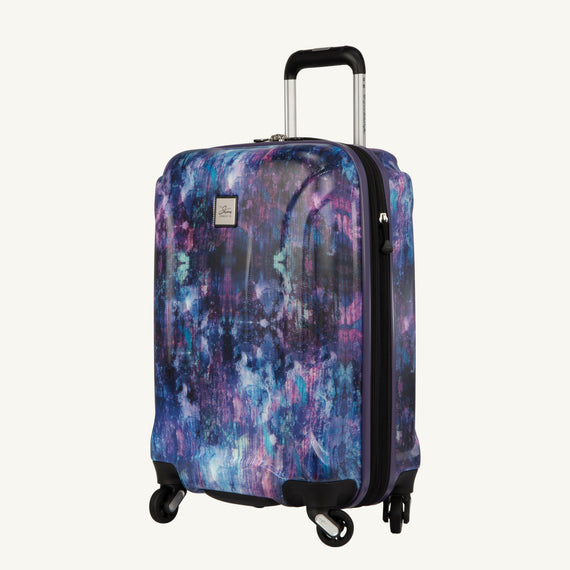 Carry-On Nimbus 3.0 20-inch Carry-On in Purple Cosmo Angled View in  in Color:Purple Cosmo in  in Description:Angled View