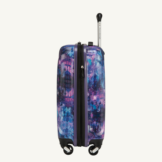 Carry-On Nimbus 3.0 20-inch Carry-On in Purple Cosmo Side View in  in Color:Purple Cosmo in  in Description:Side