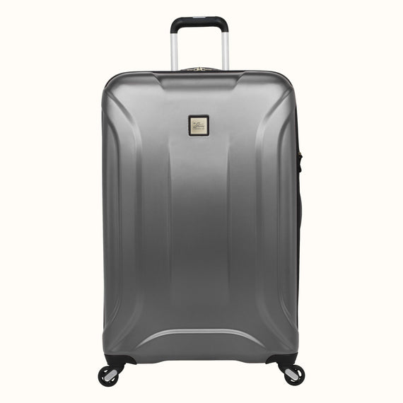 Large Check-In Skyway Luggage 28-inch Spinner Luggage in Silver in  in Color:Silver in  in Description:Front