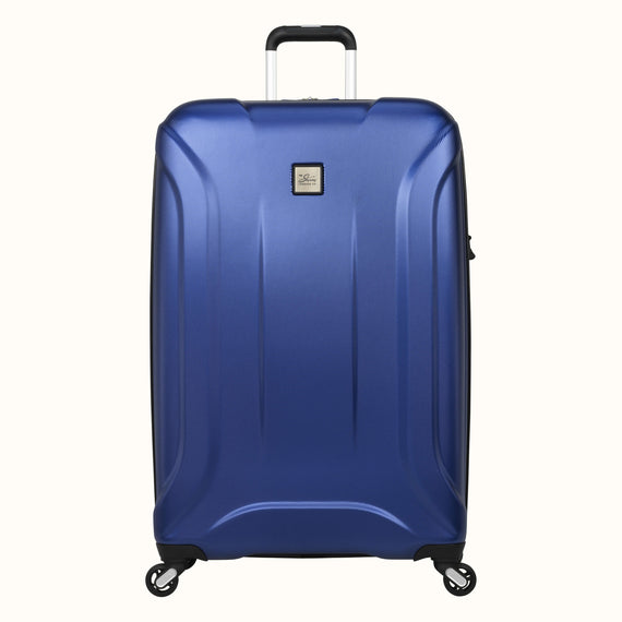 Large Check-In Skyway Luggage 28-inch Spinner Luggage in Cobalt Blue in  in Color:Cobalt Blue in  in Description:Front