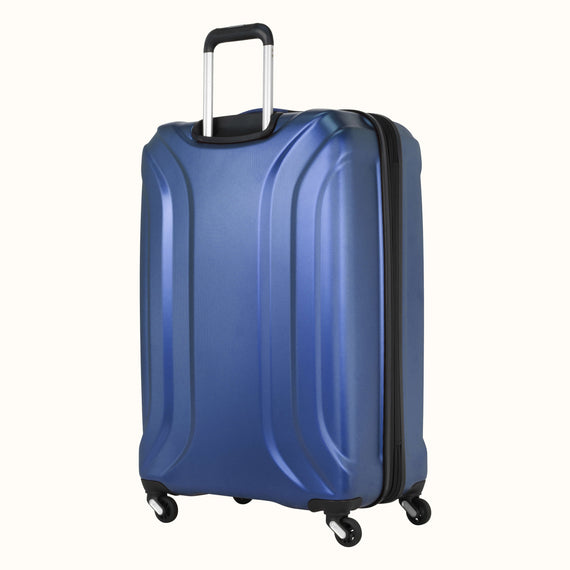 Large Check-In Skyway Luggage 28-inch Spinner Luggage in Cobalt Blue in  in Color:Cobalt Blue in  in Description:Back Angle