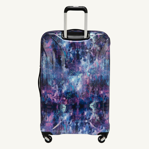 Large Check-In Skyway Luggage 28-inch Spinner Luggage in Purple Cosmo in  in Color:Purple Cosmo in  in Description:Back