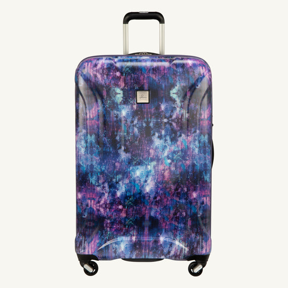 Large Check-In Skyway Luggage 28-inch Spinner Luggage in Purple Cosmo in  in Color:Purple Cosmo in  in Description:Front