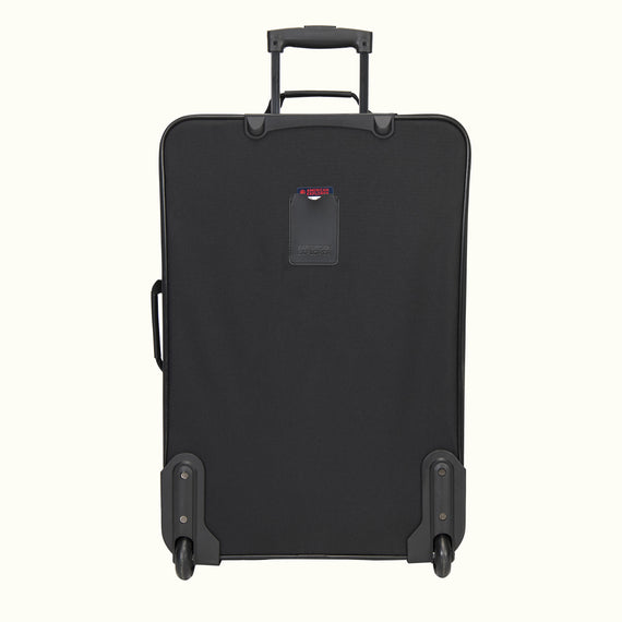 4-Piece Luggage Set Skyway Luggage Columbus 4-Piece Luggage Set in Black in  in Color:Black in  in Description:Back