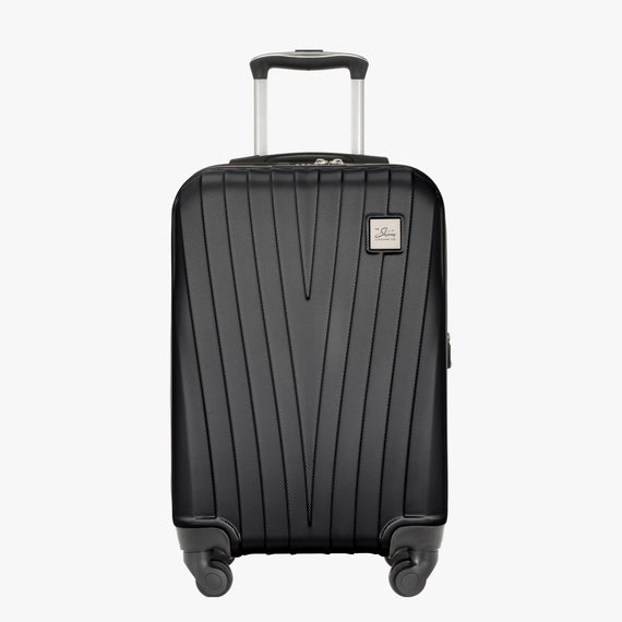 Carry-On Epic Hardside Carry-On in Black Front View in  in Color:Black in  in Description:Front