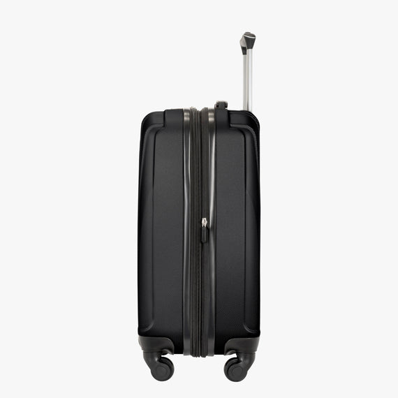 Carry-On Epic Hardside Carry-On in Black Side View in  in Color:Black in  in Description:Side