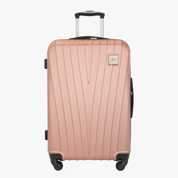 Medium Check-In Epic Hardside Medium Check-In in Rose Gold Front View in  in Color:Rose Gold in  in Description:Front