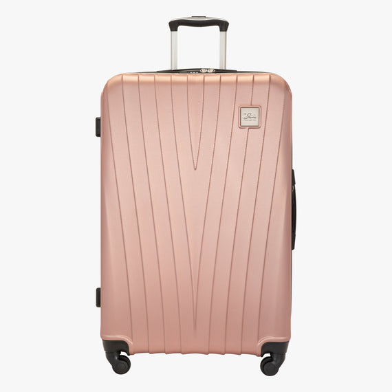 Large Check-In Epic Hardside Large Check-In in Rose Gold Front View in  in Color:Rose Gold in  in Description:Front