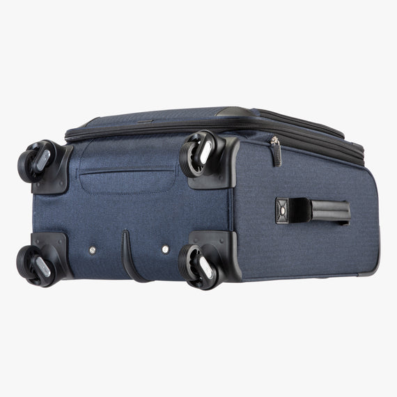 Carry-On Eastlake 20-inch Carry On in Dark Blue Bottom View in  in Color:Dark Blue in  in Description:Bottom
