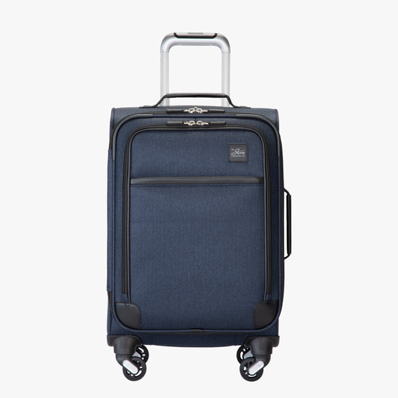 Carry-On Eastlake 20-inch Carry On in Dark Blue Front View in  in Color:Dark Blue in  in Description:Front