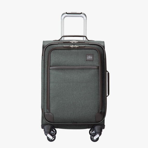 Carry-On Eastlake 20-inch Carry On in Dark Grey Front View in  in Color:Dark Grey in  in Description:Front