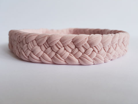 Shop Pale Blush Weaved Headband by Nautically Inspired