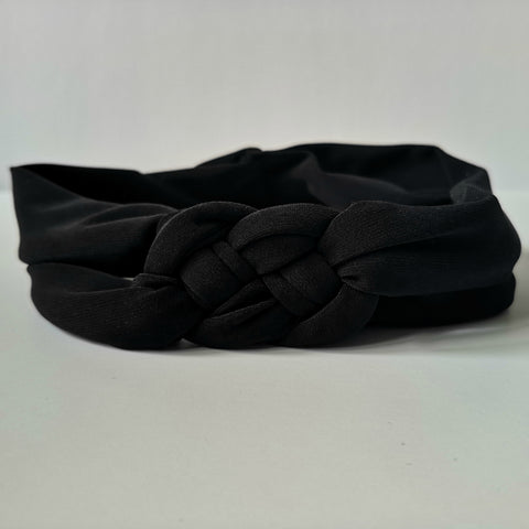 Black Nautical Knot Headband | Nautically Inspired
