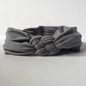 Grey Knot Headband | Nautically Inspired