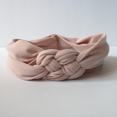 Blush Knot Headband for Women | Nautically Inspired
