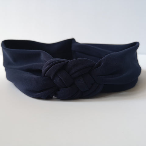 Navy Blue Nautical Knot Headband | Nautically Inspired